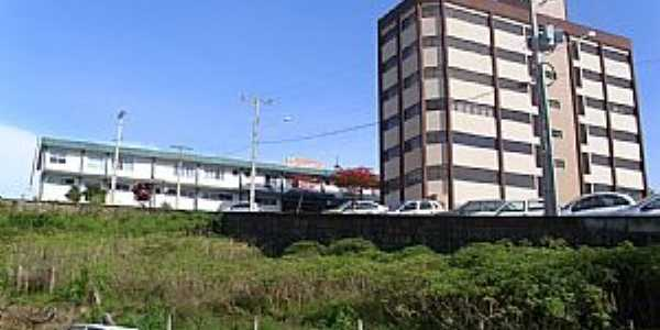 Urussanga-SC-Prédio do Hospital-Foto:José Carminatti