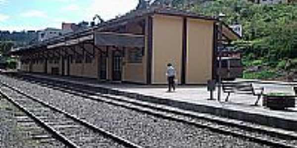 Estação Ferroviária de Videira[08/09/2005]-Foto:THIAGO DAMBROS