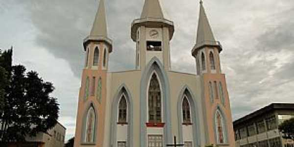 Xanxerê-SC-Igreja Matriz-Foto:Ricardo Mercadante