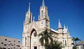 Xaxim - Igreja Matriz de São Luiz Gonzaga em Xaxim-SC-Foto:Vicente A. Queiroz
