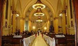 Xaxim - Interior da Igreja de São Luiz Gonzaga em Xaxim-SC-Foto:♣_Valmice_ ♣