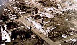 Xaxim - Vista da década de 70 da cidade de Xaxim-SC-Foto:Fernando_Chan
