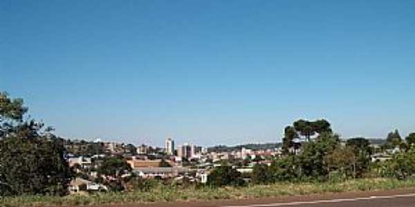 Xaxim vista da BR 282 - por Rui Barbosa José Duarte