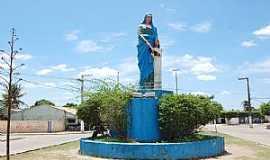 Aquidabã - Aquidabã-SE-Imagem de Sant´Ana na entrada-Foto:www.sefaz.se.gov.br