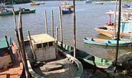 Nova Vi�osa - Porto dos pescadores de Nova Vi�osa-Foto:leonir angelo lunard�