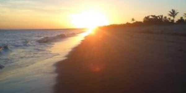 Por do sol na praia de sabacui, Por Antonio Fernando de Vasconcelos Pereira