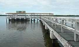 Aracaju - Aracaju-SE-Pier no Rio Sergipe-Foto:Paulo Targino Moreir…