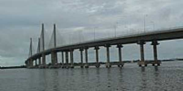 Aracaju-SE-Ponte sobre o Rio Sergipe-Foto:Paulo Targino Moreir…