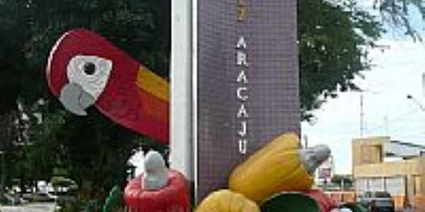Aracaju-SE-Praça Dr.Joaquim Barbosa na entrada da cidade-Foto:Paulo Targino Moreir…