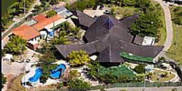 Aracaju-SE-Vista aérea do Oceanário-Foto:www.tamar.org.br
