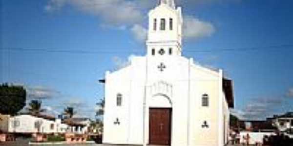Igreja - Colônia Sucupira-Foto:Sergio Falcetti