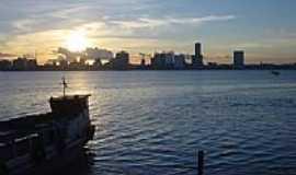 Barra dos Coqueiros - Pôr do Sol na Barra dos Coqueiros-Foto:Rosivaldo Nascimento
