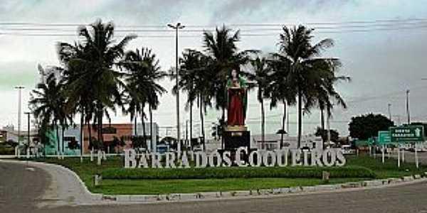 Barra dos Coqueiros-SE-Trevo de acesso-Foto:Renovatiotur