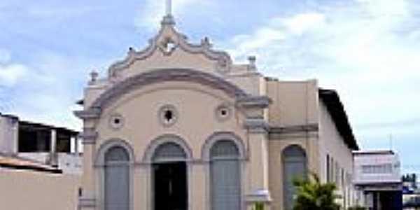 Matriz de Santa Luzia-Foto:Vicente A. Queiroz