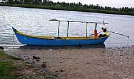 Brejo Grande - Embarcação em Brejo Grande-Foto:Carllos.costa