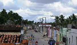 Brejo Grande - Rua Principal de Brejo Grande-Foto:Carllos.costa