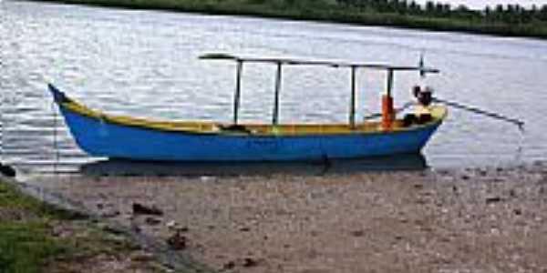 Embarcação em Brejo Grande-Foto:Carllos.costa