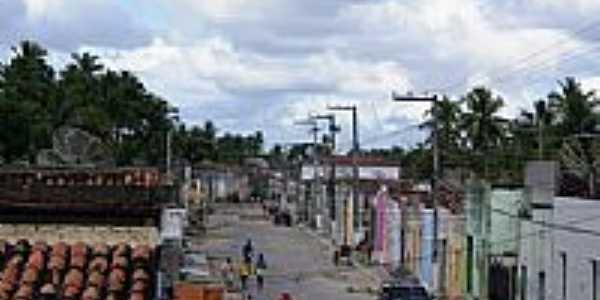 Rua Principal de Brejo Grande-Foto:Carllos.costa