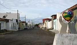 Campo do Brito - Campo do Brito-SE-Rua da cidade-Foto:sitedobareta.com.br