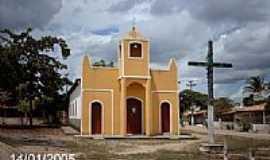 Canhoba - Igreja no Povoado de Cruz Grande-Canhoba-Foto:Sergio Falcetti