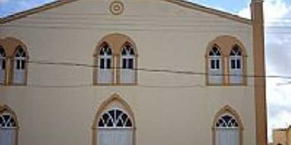 Igreja Matriz do Coração de Jesus em Carira-SE-Foto:Sergio Falcetti