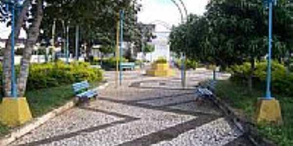 Praça Olímpio Rabelo de Morais em Carira-SE-Foto:mmsite