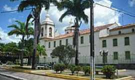 Estância - Estância-SE-Praça e lateral da Igreja de N.Sra.de Lourdes-Foto:CARLOS AUGUSTO SIQUE…