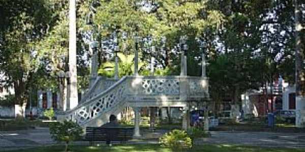 Estância-SE-Coreto na Praça