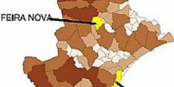 Mapa de Localização - Feira Nova-SE