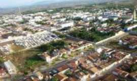 Frei Paulo - Vista aérea da cidade de Frei Paulo (fotos de Carlos Magno, enviadas por Sérgio Morenno)