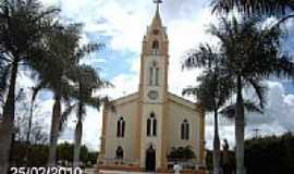 Frei Paulo - Igreja Matriz de Frei Paulo-SE-Foto:Sergio Falcetti