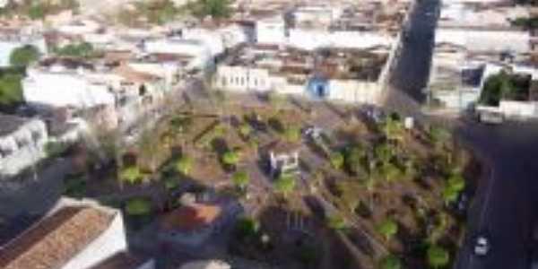 Vista aérea da cidade de Frei Paulo (fotos de Carlos Magno, enviadas por Sérgio Morenno)