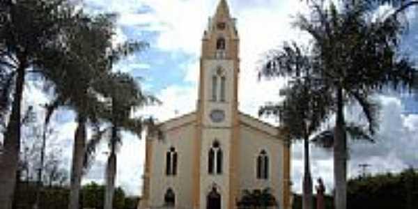 Igreja Matriz de Frei Paulo-SE-Foto:Sergio Falcetti