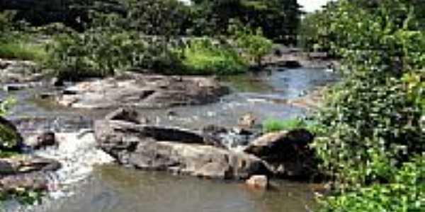 Rio Jacarecica próximo de Itabaiana-SE-Foto:Almeida Bispo