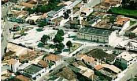 Itabaianinha - Vista aérea do centro de Itabaianinha-Foto:SAMY UNIFORMES