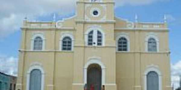 Igreja Matriz de Itabaianinha-Foto:Marcelo J Teixeira