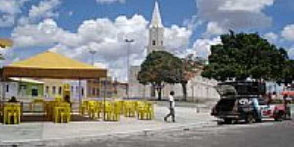 Praça em Itabaianinha-Se por edvaldo lage