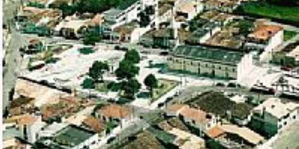 Vista aérea do centro de Itabaianinha-Foto:SAMY UNIFORMES