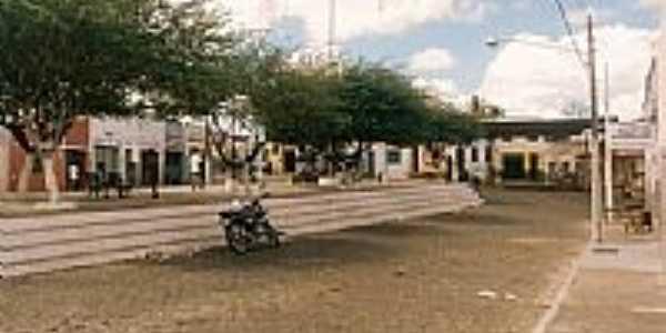 Praça do centro-Foto:tiagoitabi