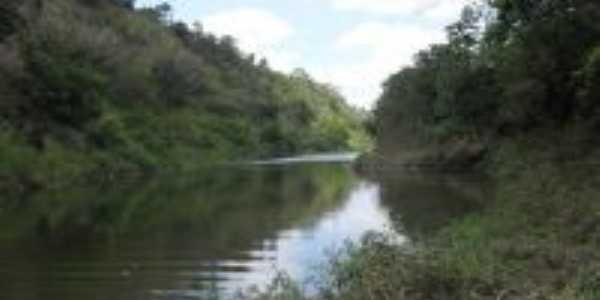 Leito do rio Vaza Barris, Por Hermon Anchieta