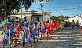 Laranjeiras - tradicional cortejo folclórico -  por Leonardo Barreto