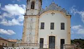 Laranjeiras - Igreja de N.Sra.do Ros�rio e S�o Banedito em Laranjeiras-SE-Foto:Sergio Falcetti
