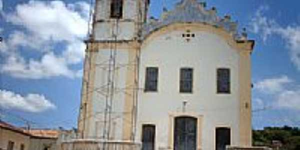 Igreja de N.Sra.do Ros�rio e S�o Banedito em Laranjeiras-SE-Foto:Sergio Falcetti
