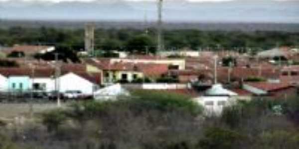 N�cleo Residencial Pilar - BA - vista do morrinho, Por El�nio