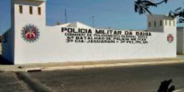 Núcleo Residencial Pilar - BA - delegacia, Por Elânio