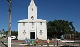 Moita Bonita - Igreja Matriz de Santa Terezinha em Moita Bonita-SE-Foto:Almeida Bispo