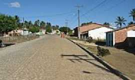 Moita Bonita - Rua do Povoado Capunga em Moita Bonita-SE-Foto:Almeida Bispo