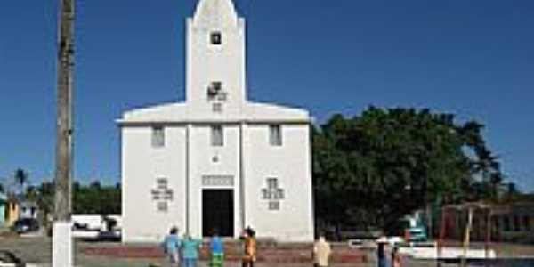 Igreja Matriz de Santa Terezinha em Moita Bonita-SE-Foto:Almeida Bispo
