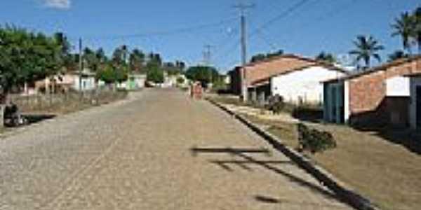 Rua do Povoado Capunga em Moita Bonita-SE-Foto:Almeida Bispo