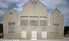 Monte Alegre de Sergipe - Igreja em Monte Alegre de Sergipe-Foto:Sergio Falcetti